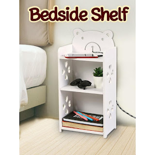 shopee things: bedside shelf