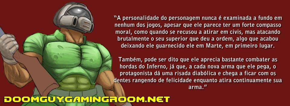 Sobre a personalidade do Doomguy