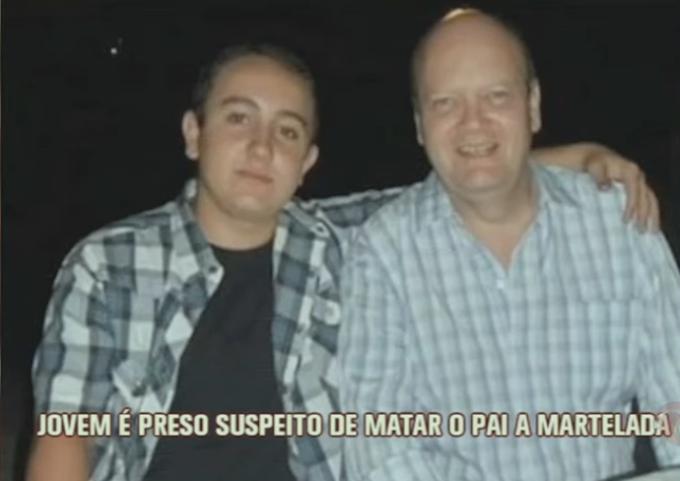 Barbárie: filho mata pai com facadas e marteladas. VEJA VÍDEO!
