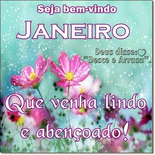 Seja Bem Vindo: Seja 'bem Vindo Janeiro' #inicio