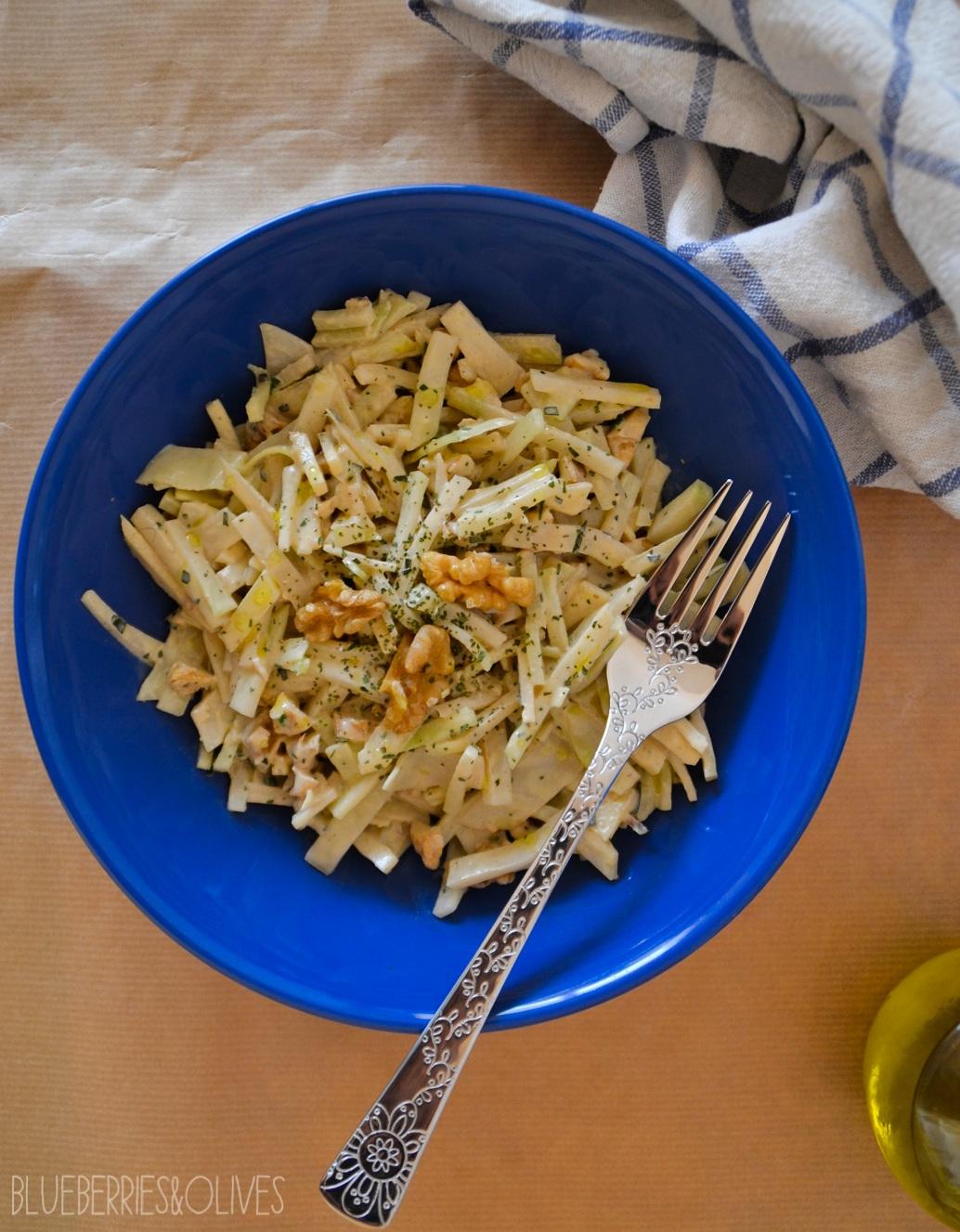 Ensalada de apionabo, manzana y nueces 5