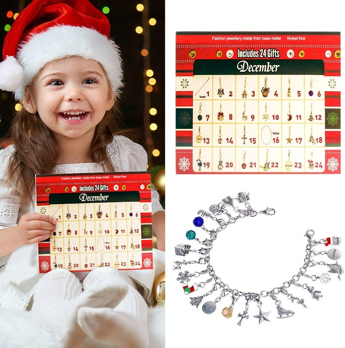 80% OFF Christmas Advent Calendar for Kids,