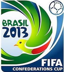 Logo da copa das confederações no Brasil, FIFA 2013.