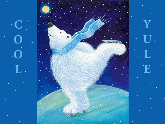 download besplatne Božićne pozadine za desktop 1600x1200 čestitke blagdani Merry Christmas životinje polarni medvjed