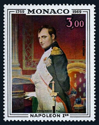 Monaco Napoleon, by Paul Delaroche, 1969