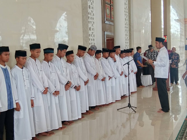 Ikuti Program Tahfidz Tahun Ini, Santri Asal Pulau Sembilan Ucapkan Terima Kasih ke Bupati ASA