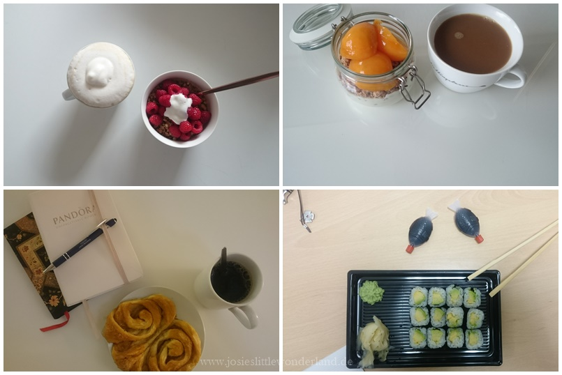 Wochenrückblick #109 - www.josieslittlewonderland.de - food of the week, sushi addicted, coffee time, healthy food