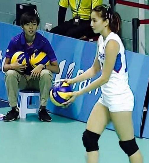 Rachel Anne Daquis Hypnotized A Ball Boy in the SEA Games ...