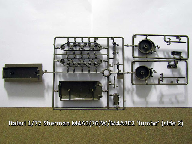 Italeri 1/72 Sherman M4A3(76)W and M4A3E2
