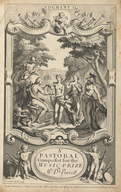 The Judgment of Paris: a pastoral composed for the music-prize, 1700, by Daniel Purcell