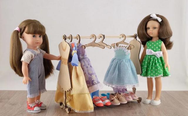 выкройки одежды для кукол