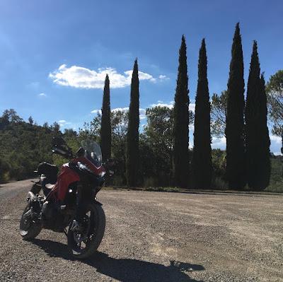 Ducati Multistrada 950s. L'Eroica