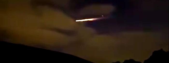 meteoro bola de fogo na austrália