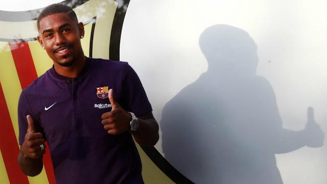 CHÍNH THỨC: Gây sốc, Barcelona chiêu mộ Malcom 2