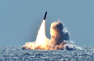 Ujicoba ICBM Trident II