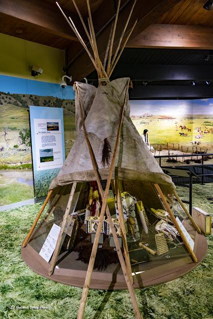 Tipi, Akta Lakota Museum - Chamberlain, Dakota del Sur