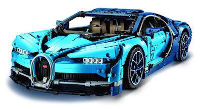 mô hình siêu xe Bugatti Chrion LEGO 1