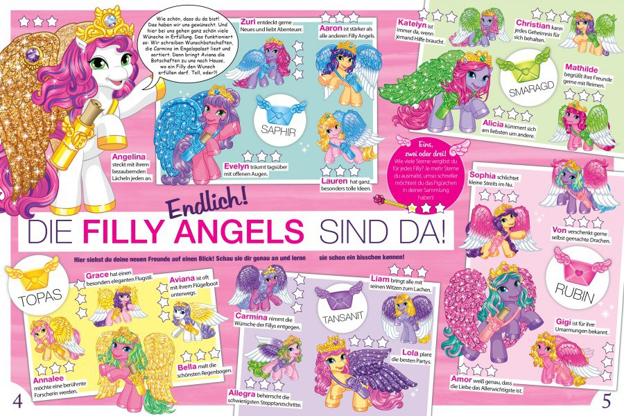 funtasia daily filly funtasia introducing the filly angels