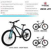 Sepeda Gunung Exotic ET2612AM mtb mountain bike