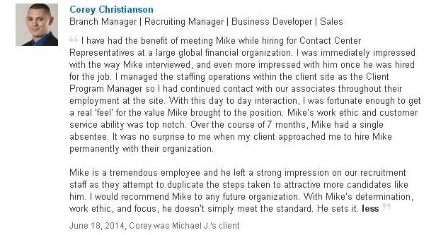 mike schiemer consulting review linkedin review
