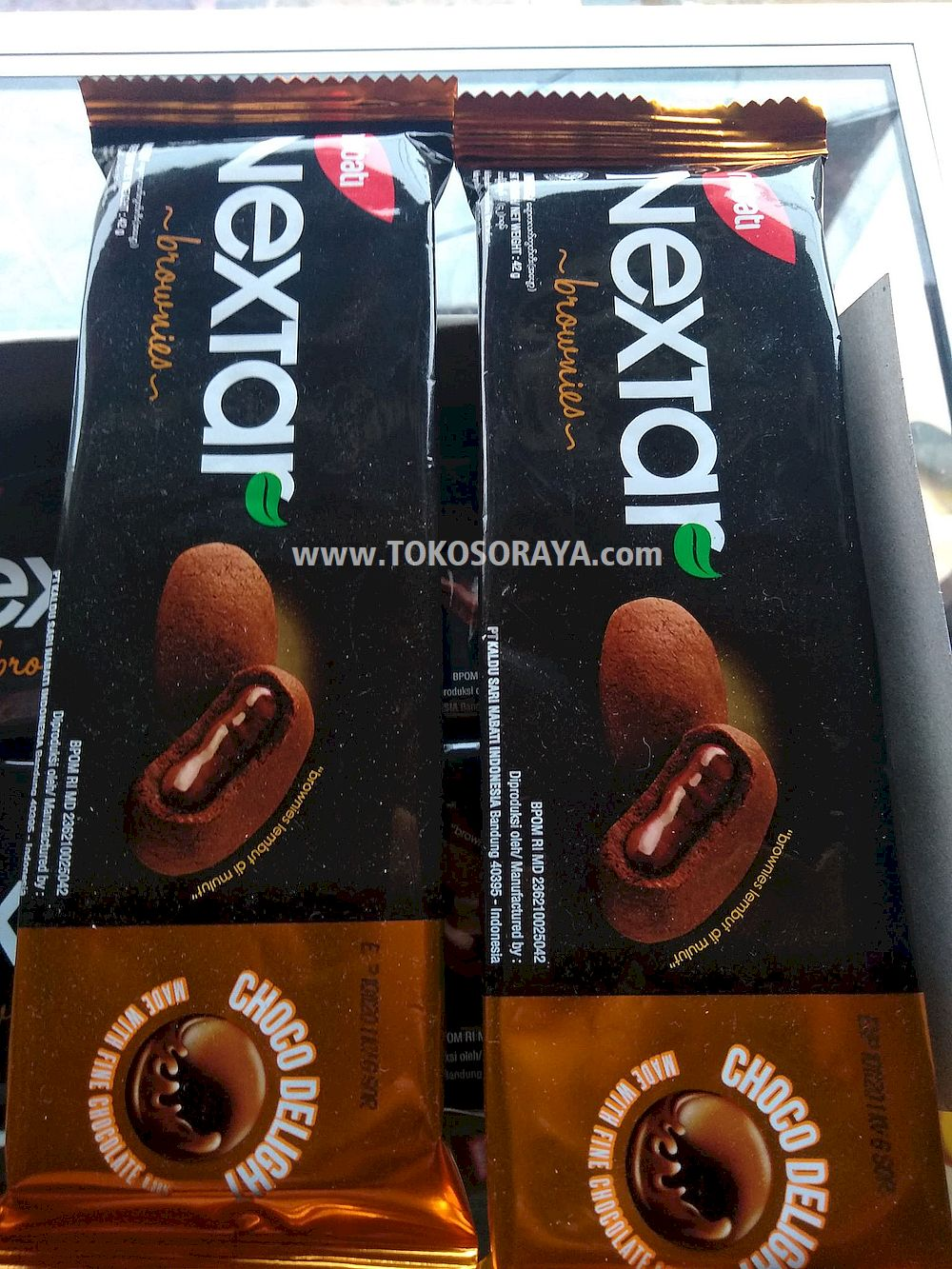 photo produk nabati nextar brownies choco delight 42g