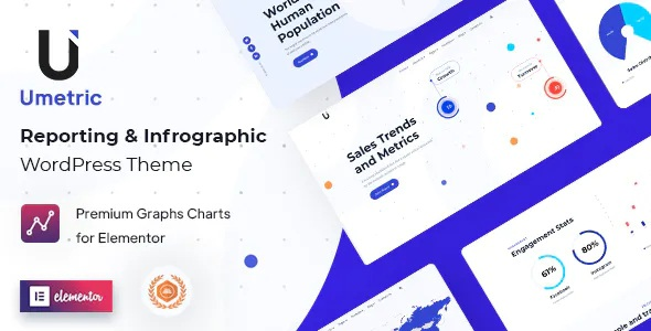 Reporting and Infographic WordPress Theme