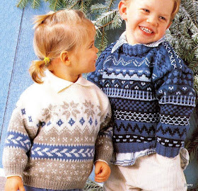7d81724839d Σχέδια, ιδέες και προτάσεις για πλέξιμο παιδικών και βρεφικών πλεκτών. Παιδικά  πουλόβερ με ρίγες