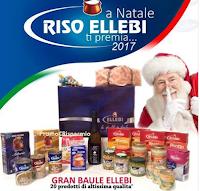 Logo Vinci gratis il Baule Fantasia con 20 prodotti Riso Ellebi