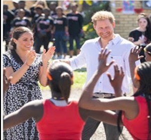 Duke and Duchess of Sussex post wrap video to celebrate their tour of Africa 2019