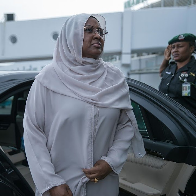Nigeria's first lady, Aisha Buhari talks of her Husband Muhammadu Buhari's health