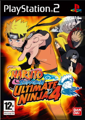 Download  Naruto Shippuden Ultimate Ninja 4 PS2 ISO For PC
