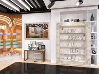 ДИЗАЙН МАГАЗИНА ТОВАРОВ ДЛЯ ДОМА GALALUX HOME Екатеринбург Dulisov design студия интерьер Галалюкс store market interior