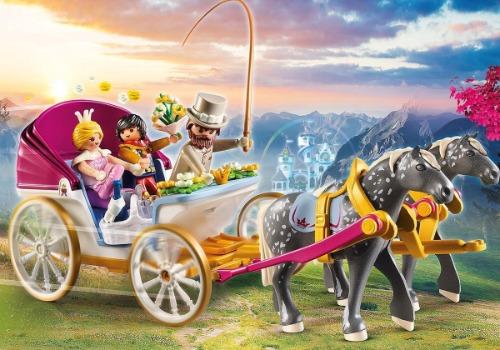 Playmobil prinses koets