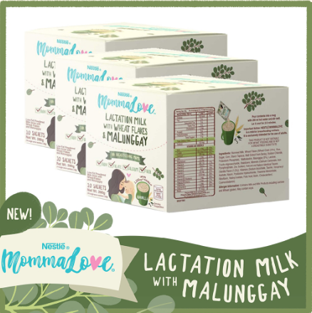 Nestle MommaLove Lactation Milk - Vanilla