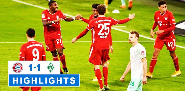Bayern München vs Werder Bremen – Highlights