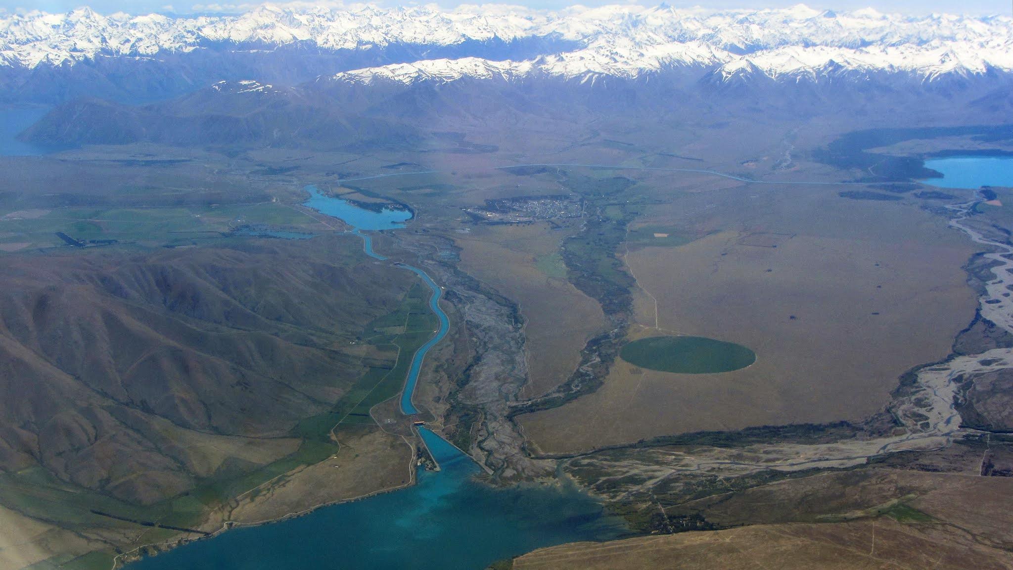 Lake Ruataniwha New Zealand