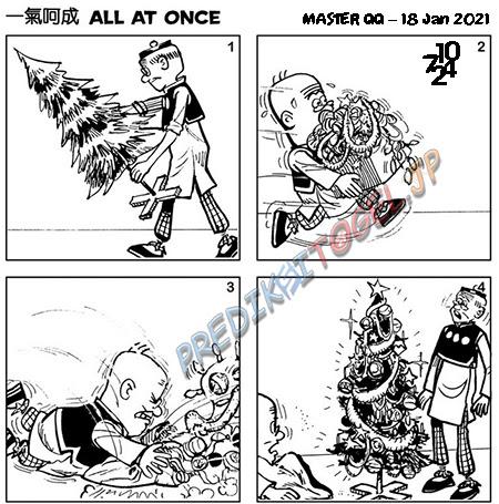 Prediksi Master QQ SGP Senin 18 Januari 2021