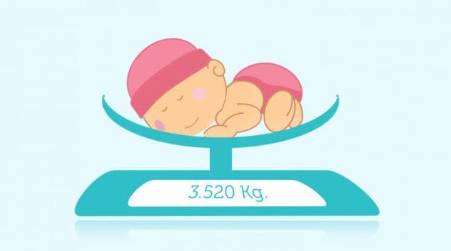 cek berat badan bayi naik, turun normal atau turun drastis