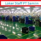 Loker Wanita Bagian Staff PT Samjin Indonesia Tahun 2020