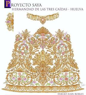 La Virgen del Amor de Huelva estrenará saya en 2021
