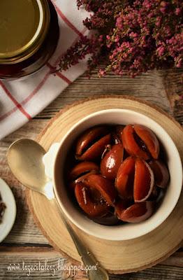 Śliwki w occie – kuchnia podkarpacka