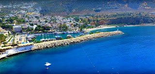 Kalkan is Turkish resort