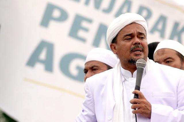 """Gara-gara Video, Habib Rizieq Terkena Operasi """"Intelijen Hitam'"""