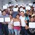 Mauricio Vila entrega los primeros 100 bonos de vivienda como parte del convenio con Hábitat