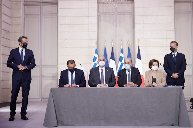 Αυτή είναι η αμυντική συμφωνία Ελλάδας-Γαλλίας - «Κλειδί» το άρθρο 2 για το αμυντικό δόγμα