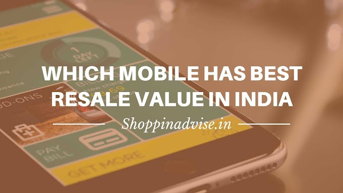 Which Mobile has Best Resale Value in India