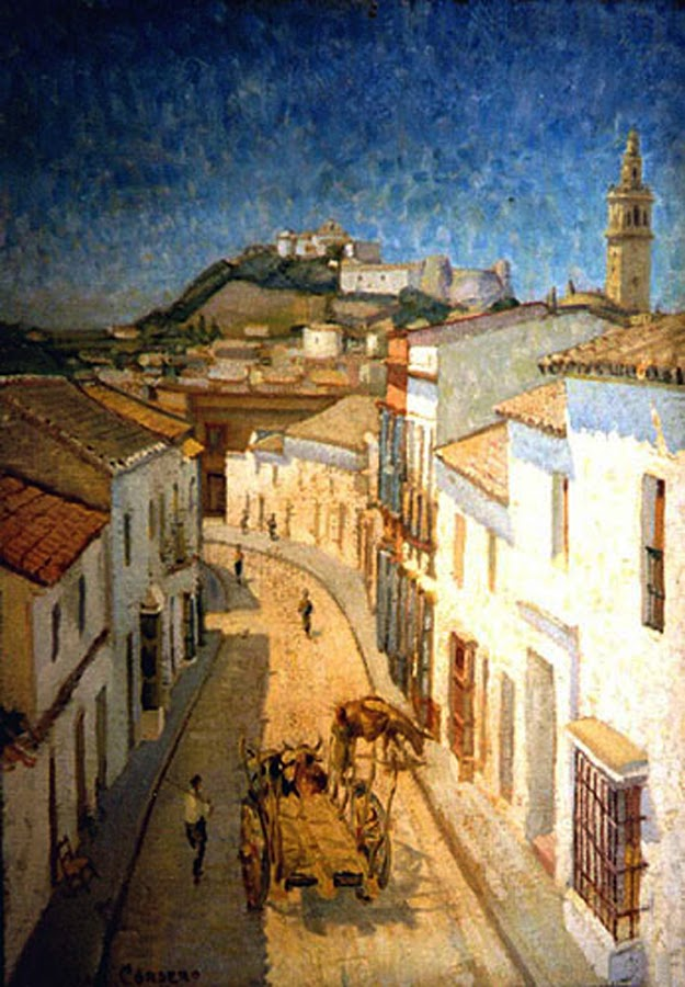Juan Cordero Ruiz, Paisajistas españoles, Paisajes de Juan Cordero Ruiz, Pintor español, Pintores Sevillanos, Pintores de Sevilla, Pintor Juan Cordero Ruiz