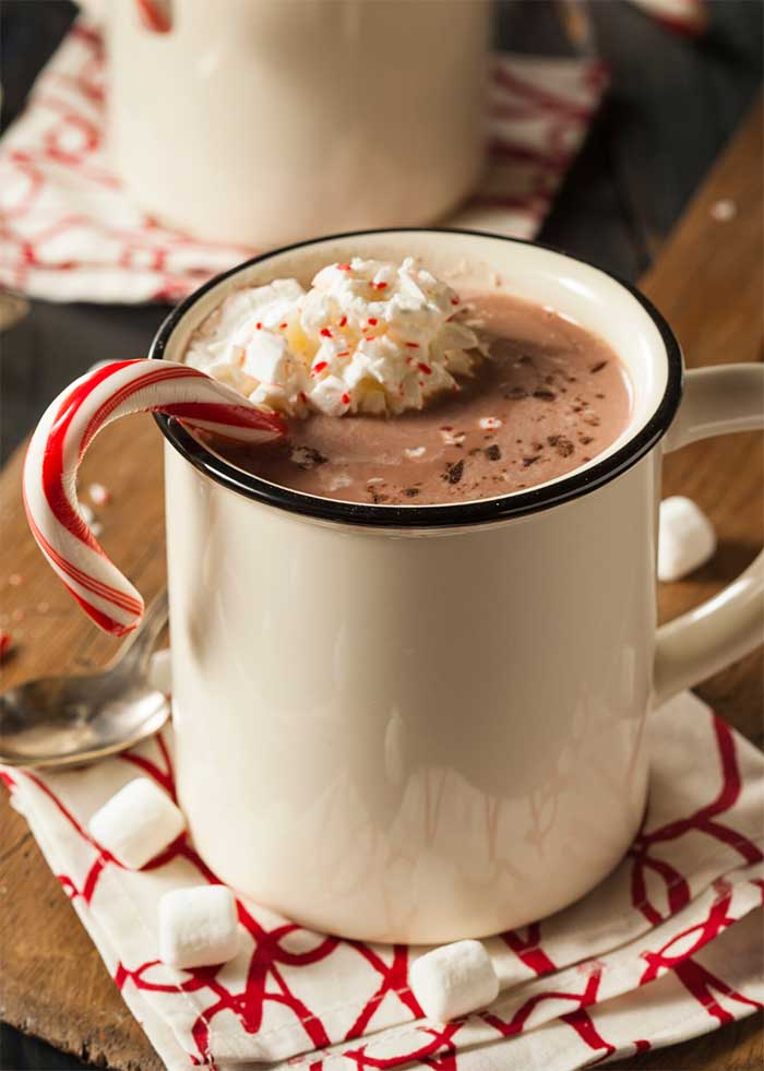 How to make keto friendly hot chocolate. This can be dairy free or vegan by using all almond milk. Homemade hot cocoa recipe with cocoa powder made on the stovetop.  Make a home made creamy drink for one person or for a crowd by doubling or tripling the recipe. This is the best healthy recipe that's so easy to make. #hotchocolate #hotcocoa #chocolate #drink