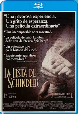 Schindler's List 1993 20th Anniversary Edition BD50 Latino