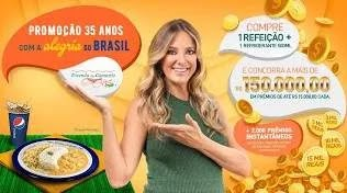 Cadastrar Promoção 35 Anos Vivenda do Camarão Com Ticiane Pinheiro 150 Mil Reais